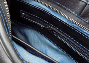Ремонт молний на сумке