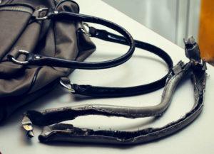 Ремонт ручек на сумке