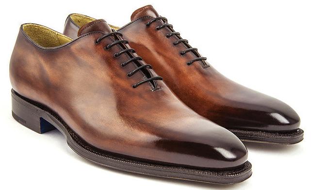 Пошив мужской обуви из кожи