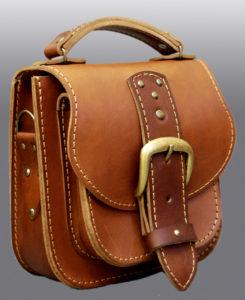 Пошив кожаных сумок на заказ в Москве