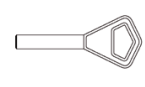 Изготовление финских полукруглых ключей