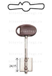 Изготовление дверных ключей моттура