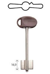Сувальдный ключ с длиной ножкой 60 мм 92 102 5