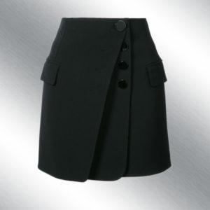Пошив юбки с запахом на заказ 6
